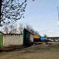 25.04.2012 16:16  Улица Свердлова. Площадка для спецавтомобилей., Звенигородка