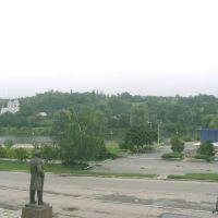 """Вид на """"фонтани"""", Катеринополь"""