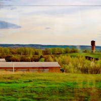 23.04.2012 17:58  Дорога Р04. На въезде в город Лысянка., Лысянка