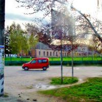 23.04.2012 18:02  Дорога Р04. Школа в г.Лысянка., Лысянка