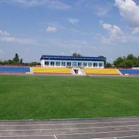 Міський стадіон після реконструкції у 2005-му, Умань
