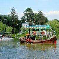 Верхний пруд в дендрологическом парке Софиевка / Upper pound in the Sofiyivka dendrological park, Умань
