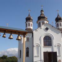 Батурин. Восстановленная Покровская церковь., Батурин