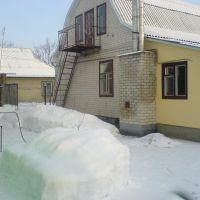 Зима в Бобровице. Васина фазенда, Бобровица