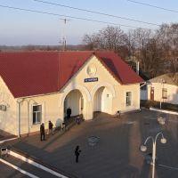 Вокзал станції Бобровиця, Бобровица