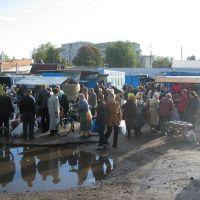 Market in Bobrovytsya, Бобровица