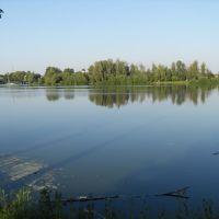 Река борзенка с видом на замок, Борзна