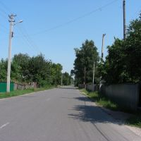 One of the main streets, Вертиевка