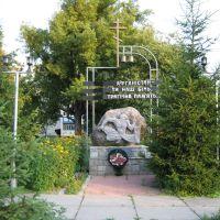 памятник Афганцам, Городня