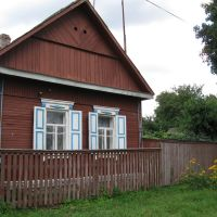 House made of wood, Городня