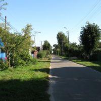 street small town, Городня