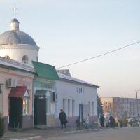 Торговий ряд і Воскресінська церква, Ичня