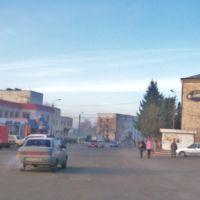 Центральна площа і пошта, Ичня