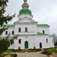 Козелец. Николаевская церковь 1784г. Украинское барокко / Church of saint Nikolay of 1784. Ukrainian baroque, Козелец
