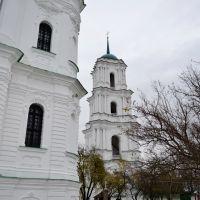 Козелец. Колокольня Рождественского собора 1766-70г./ Bell tower of the Christmas cathedral of 1766-70, Козелец