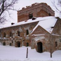 п. Короп. Ильинская церковь-крепость., Короп