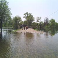 Затоплена дорога, Короп