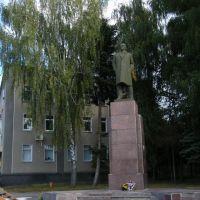 Статуя Ульянова в Мені, Мена