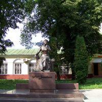 Нежин, памятник Марии Зеньковецкой, Нежин