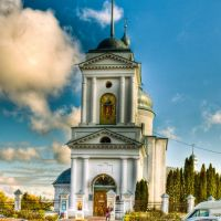 Покровская церковь, 1757-65 г. Колокольня, пер. пол. XIX в., Нежин