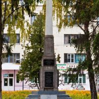 """Памятник работникам з-да """"Нежинсельмаш"""", которые погибли в годы Великой Отечественной войны, Нежин"""