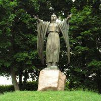 Statue of Jaroslavna, Новгород Северский