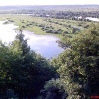Вид с монастыря на Десну, Новгород Северский