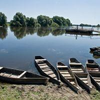 Переправа., Новгород Северский