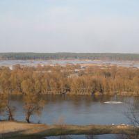 Разлив Десны. Вид со смотровой площадки, Новгород Северский