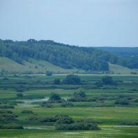 Деснянські луки з північної вежі, Новгород Северский