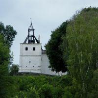 Східна вежа після пожежі, Новгород Северский