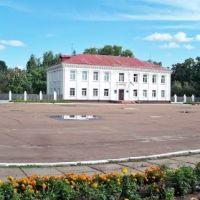 Панорама центральной площади, Сосница