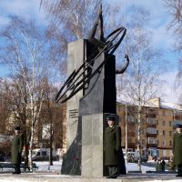 Chernihiv, a memorial to soldiers killed in Afghanistan, Чернигов
