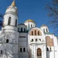 Спасо-Преображенский собор: вид с юго-восточной стороны, Чернигов