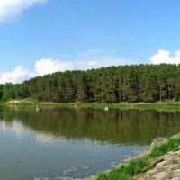 Еловщина и дамба на р. Стрижень_панорама 1, Чернигов
