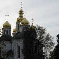 Церковь св. Екатерины (вид с Вала), Чернигов