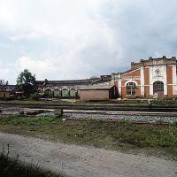 Чыгуначныя майстэрні (дэпо). Railway workshop (depot), Щорс