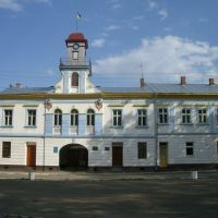 Townhall in Kuty / Кути, Вижница
