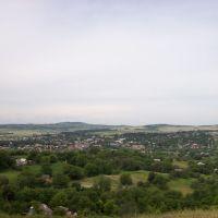 панорама города, Герца