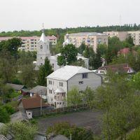 Вид на северозапад, Кельменцы