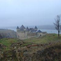 Хотинська фортеця на Дністрі, Хотин
