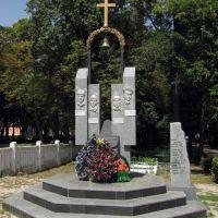 Хотин. Памятник погибним в Афганистане., Хотин