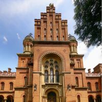 Three Holy Hierarchs Church (1878) - Unesco World Heritage, Черновцы