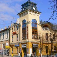 Soborna Square - corner of Cherwonoarmijska street, Черновцы