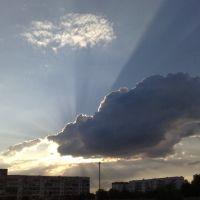 Армянск, вечером, Армянск