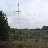 Линия ЛЭП / Power transmission line, Береговое