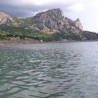 Скала Кошка Симеиз Вид с Голубого залива, Кацивели