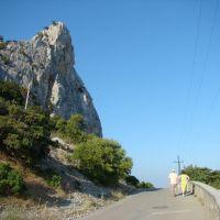 Дорога вокруг горы Кошка / Road round Сat mountain, Кацивели