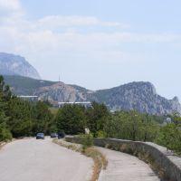 Дорога в Кацивели, Кацивели
