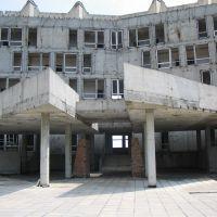 Crimea.Abandoned hotel., Кацивели